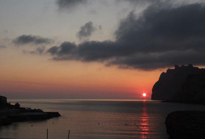 Sonnenuntergang Cala Molins