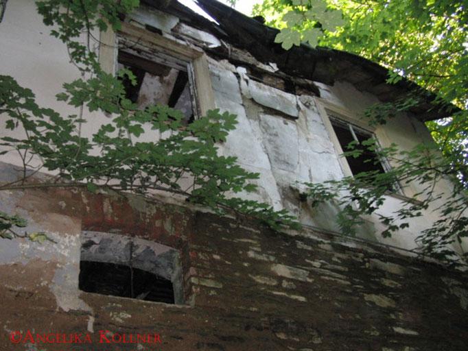 Die hintere Fassade des Hauses. Auch hier erkennt man sehr gut den Verfall. #Ghosthunters #Geisterjäger #paranormal #ghost