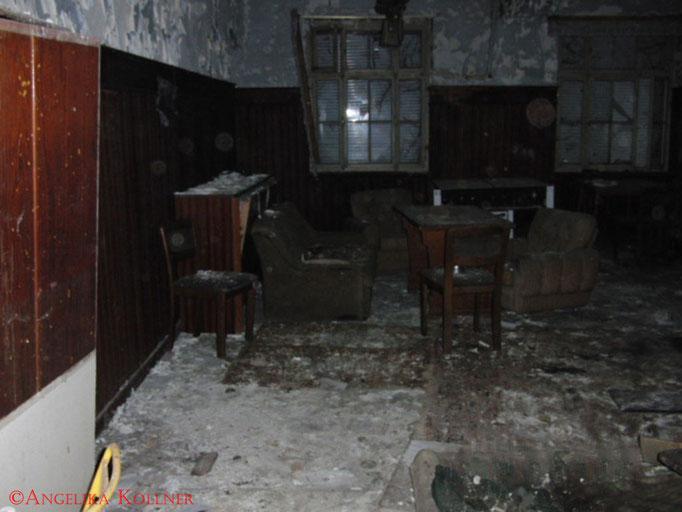 Der Gastraum des ehemaligen Restaurants. #Ghosthunters #Geisterjäger #paranormal #ghost