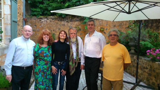 Michael Lonsdale à Nontron -La Quinta Chambres d'hôtes- Amis de l'orgue de Nontron - Juin 2015