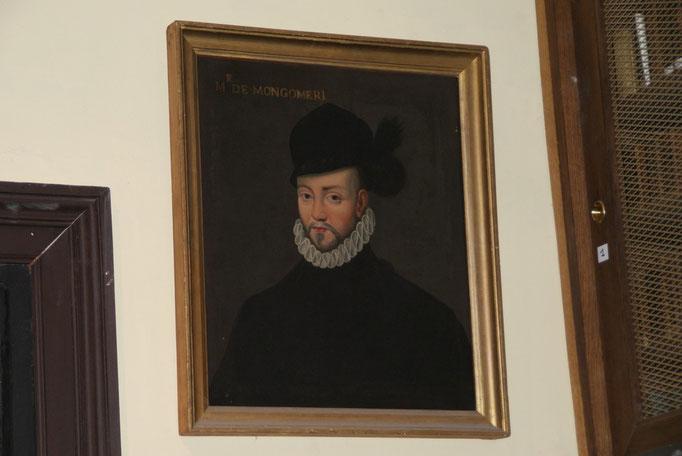 Gabriel de Montgomery, Capitaine de la garde Ecossaise - Responsable de la mort du roi Henri II lors du tournoi