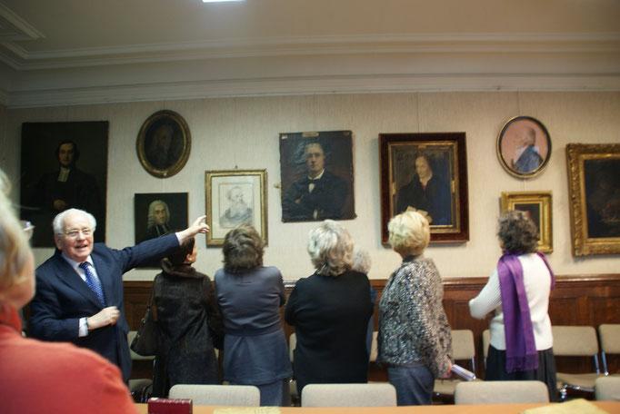 Commentaires sur les portraits des grandes figures du Protestantisme