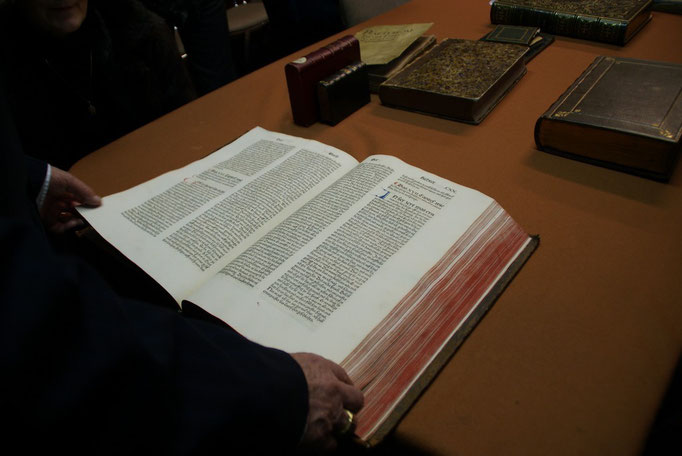 """""""Incunable"""" - Bible en Allemamd  imprimée à Nuremberg en 1483"""