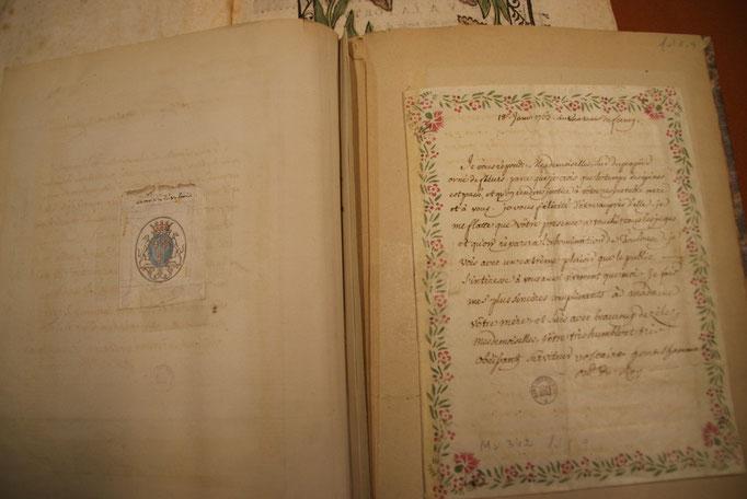 Lettre de Voltaire aux Demoiselles Calas, à l'issue du procès en réabilitation de leur père