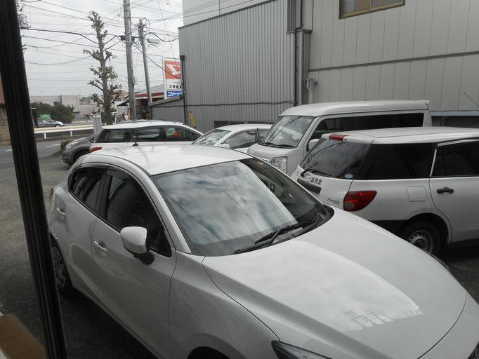 11月10日の駐車場の様子