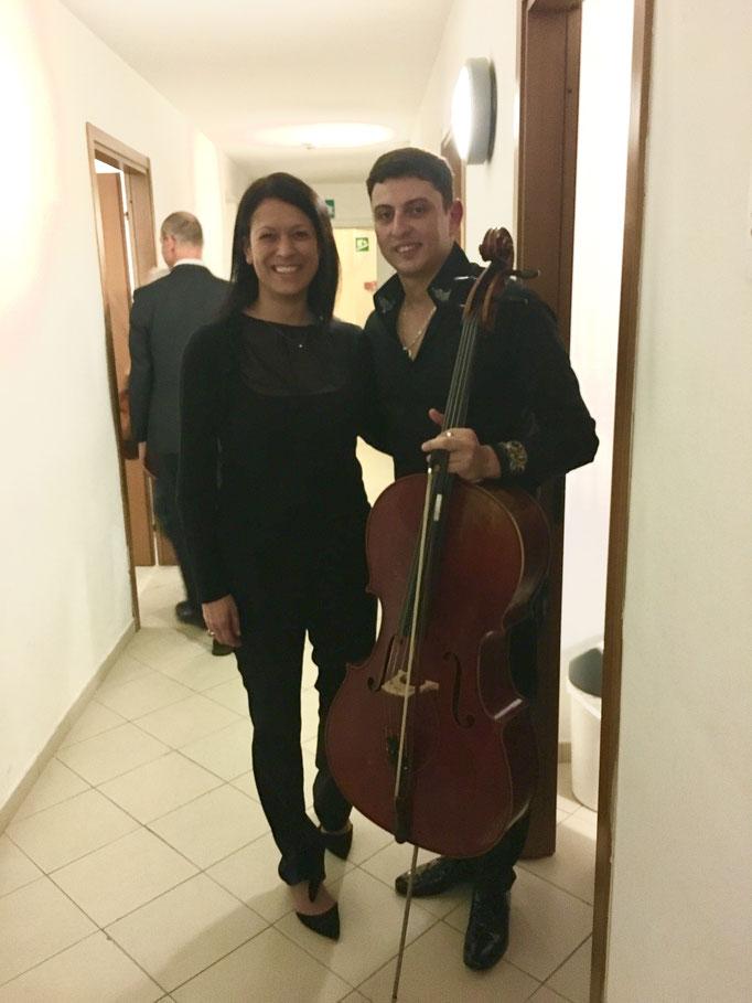 con Narek Hakhnazaryan