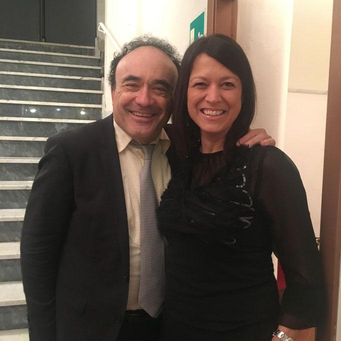 con Frédéric Chaslin