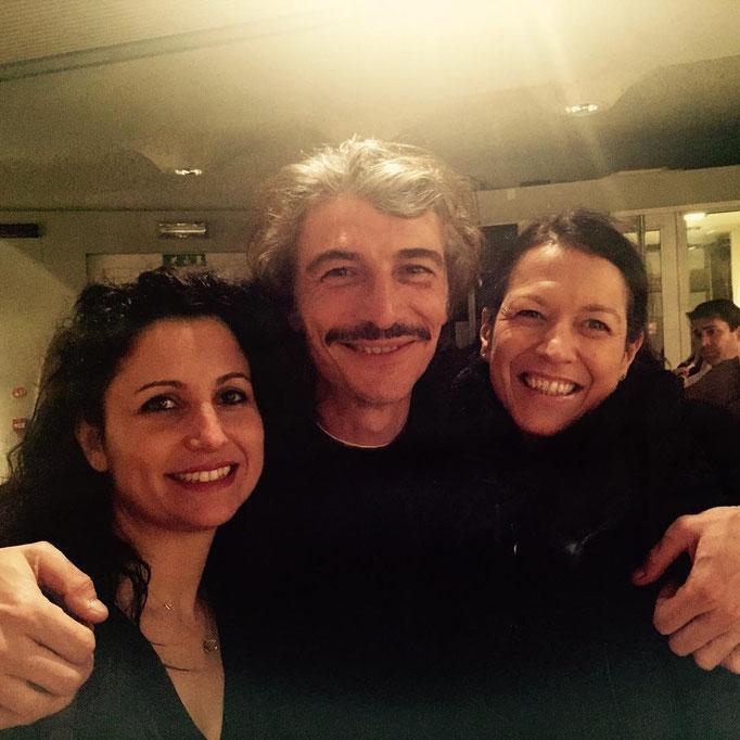 con Isabella Turso e Alessandro Bergallo