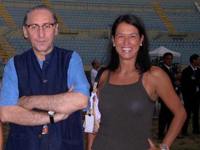 Con Franco Battiato