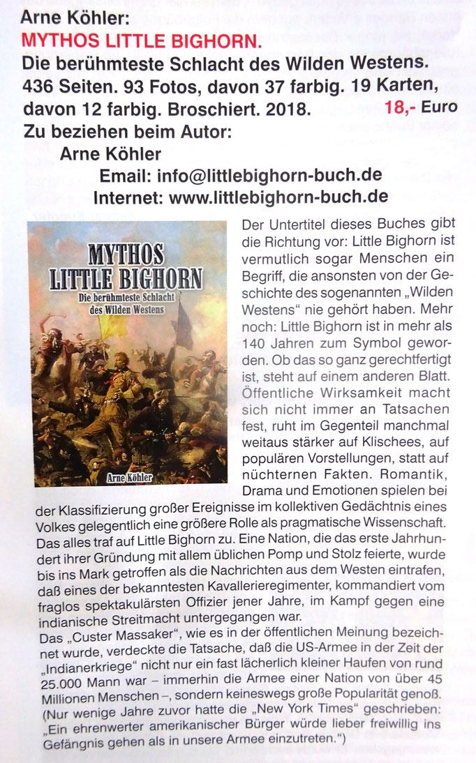 Mythos Little Bighorn - Buchkritik Seite 1