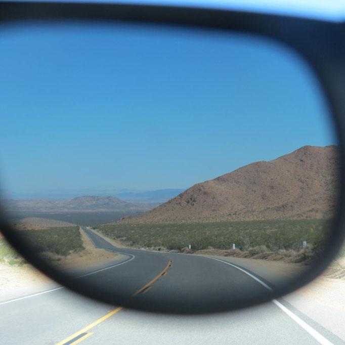 Mojave Wüste unweit von Big Bear Lake