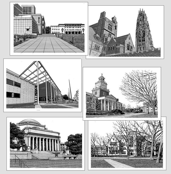 カリフォルニア工科大学 イェール大学 インペリアル・カレッジ・ロンドン ジョン・ホプキンス大学 コロンビア大学 シカゴ大学