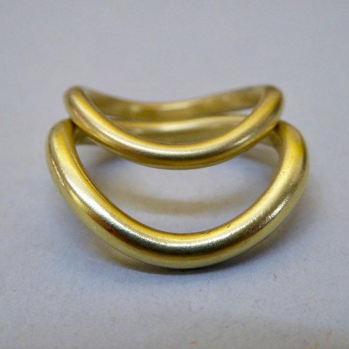 Trauringe, Gelbgold 750