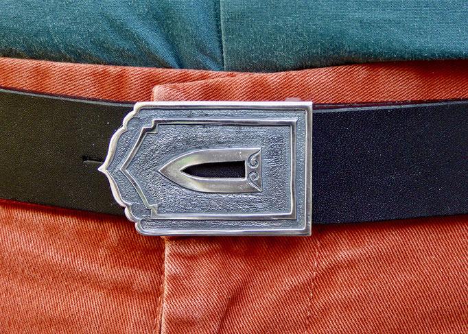 Gürtelschnalle Silber 925