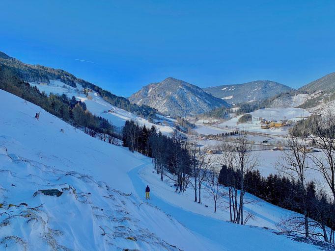 Skiweg Frechhof