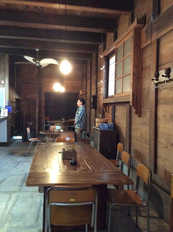 Cafeと木工職人さん