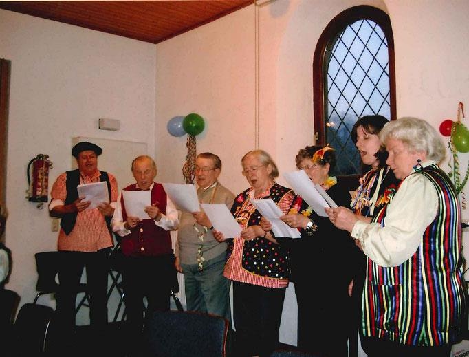 2009 Besuch Pfarrheim