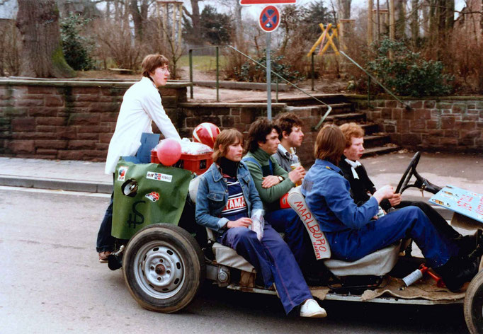 1980 - Beteiligung Birgeler Jugend am Umzug