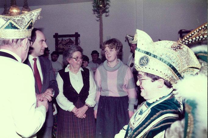 """1985 - der """"kleinste Prinz des Kreises Düren"""" in Aktion"""
