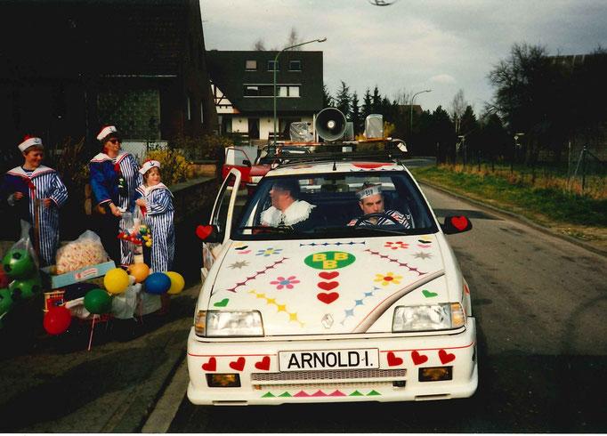 1990 - Prinzenwagen von Prinz Arnold I. Freyaldenhoven