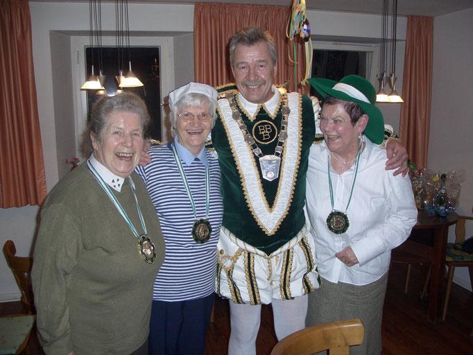 2008 - Prinz Günter in der Altenstube bei den Damen