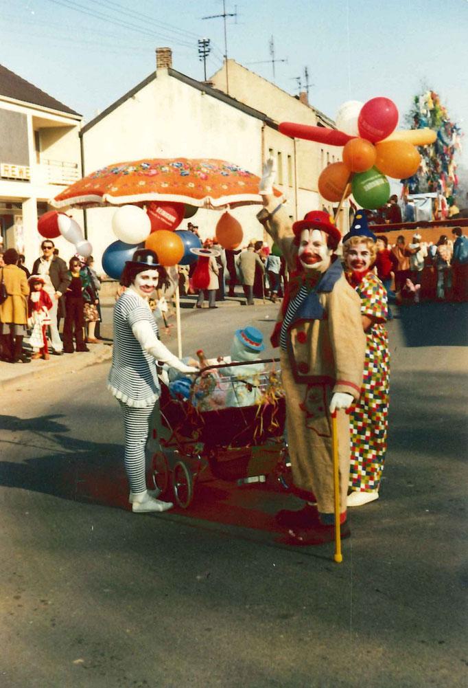 1976 - Ein langjähriger Zugteilnehmer - Hans Tombers