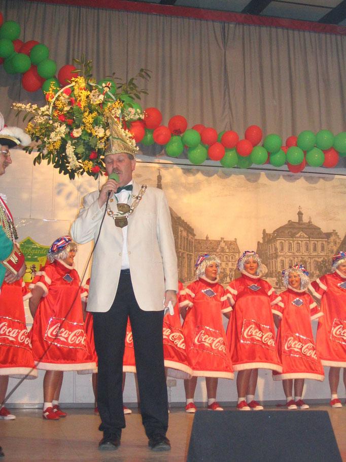 2004 - Ausmarsch nach Jülich zur Schlossberggarde