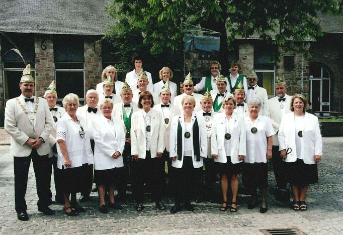 2003 - Gesellschaftsfoto wegen Jubiläum in 2004
