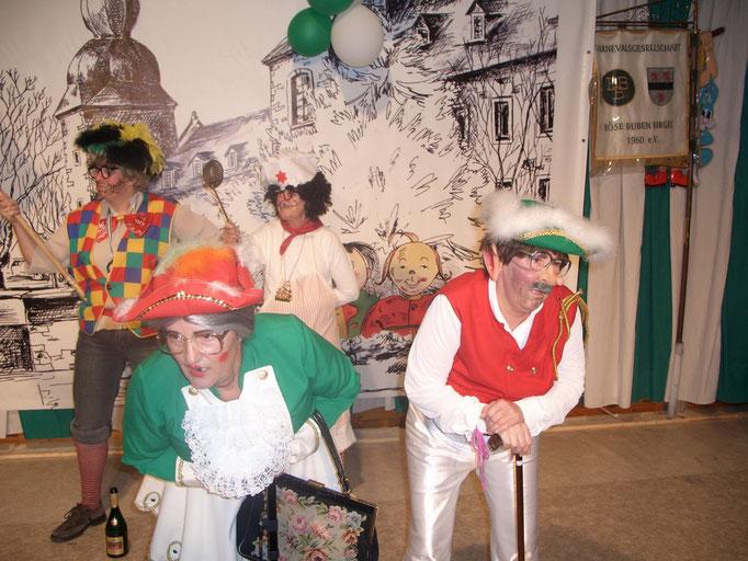2008 - BiKuDüStra während ihres Auftritts beim Frühschoppen