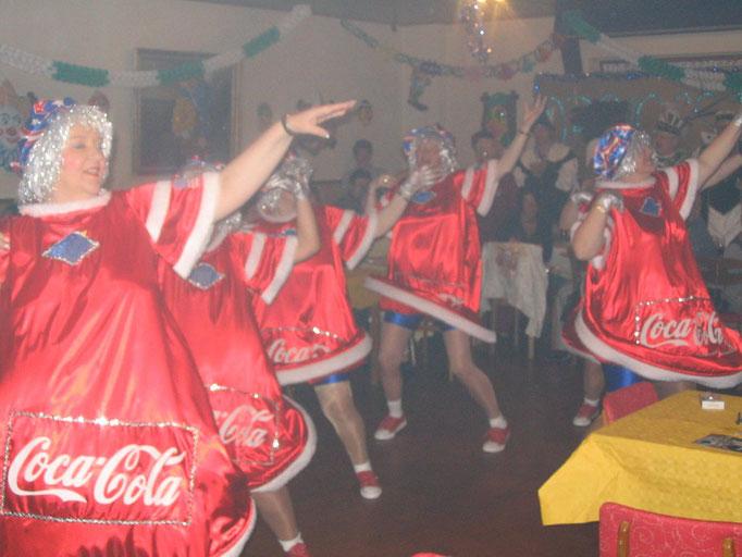 2004 - Inthronisation des ersten Birgeler Dreigestirn