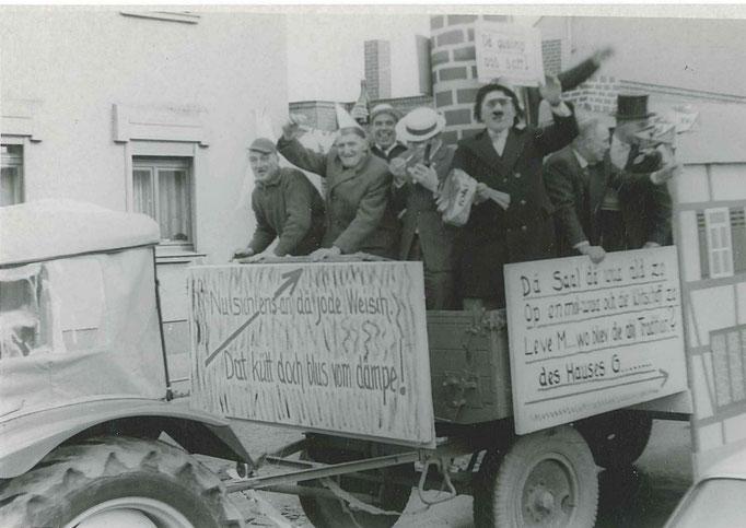 1963 - Umzug in Birgel, oben auf der Bergstraße