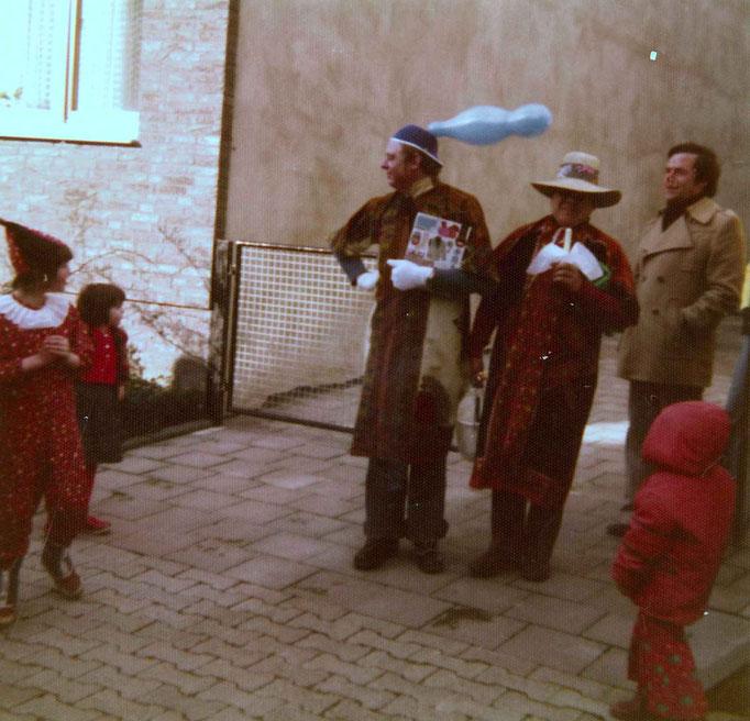 1976 - die Täufer, bereit zur Bachtaufe - Karl-Heinz Pauly und Eddi Diedrich