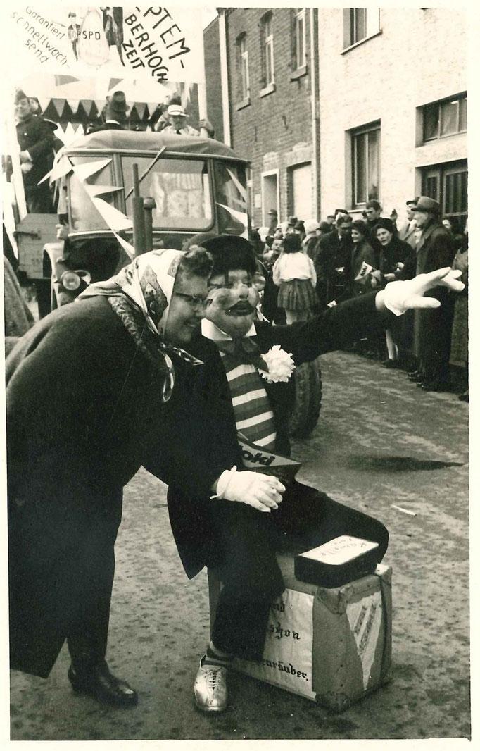 1965 - Zugteilnehmer Hans Tombers