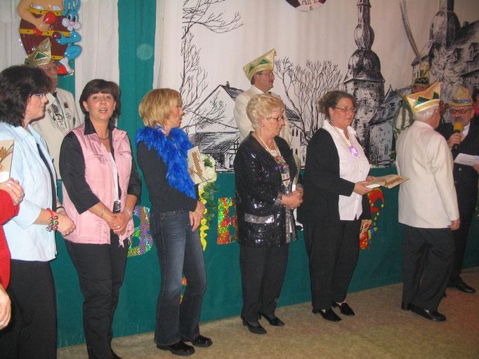 2006 - Ehrungen währen der Sitzungen
