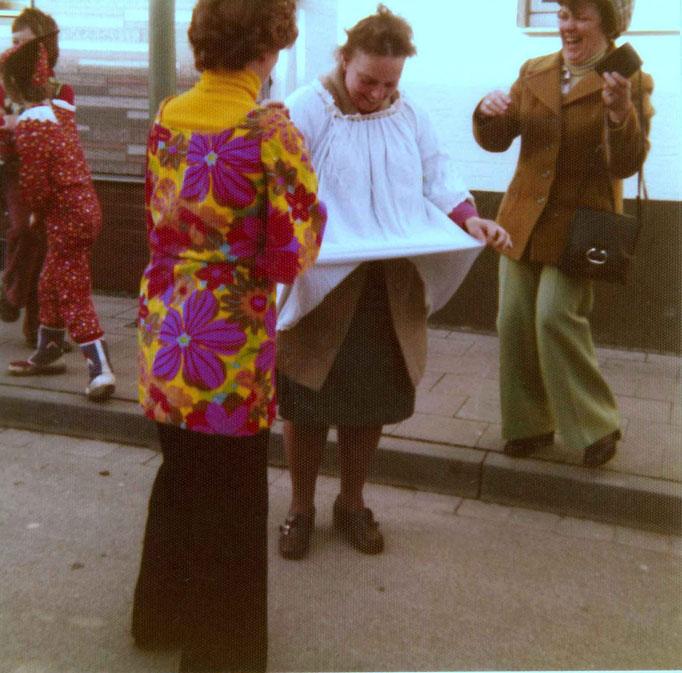 1976 - Vorbereitung zur Bachtaufe - Ilse Toffeleit