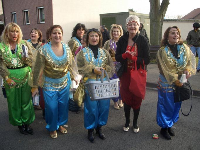2008 - Umzug Birgel - Frauen des TUS Germania Birgel