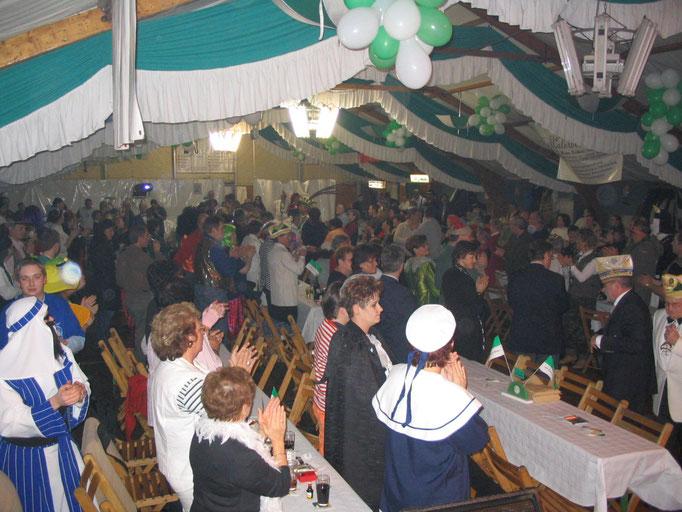 2006 - Einzug von Prinz Ali I. ins Festzelt