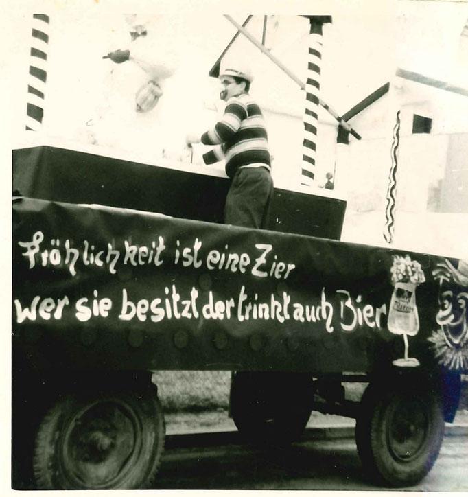 1967 - Karnevalswagen der Berzbuirer