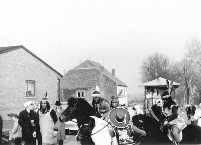 1967 - Umzug, auf der Monschauer Landstraße