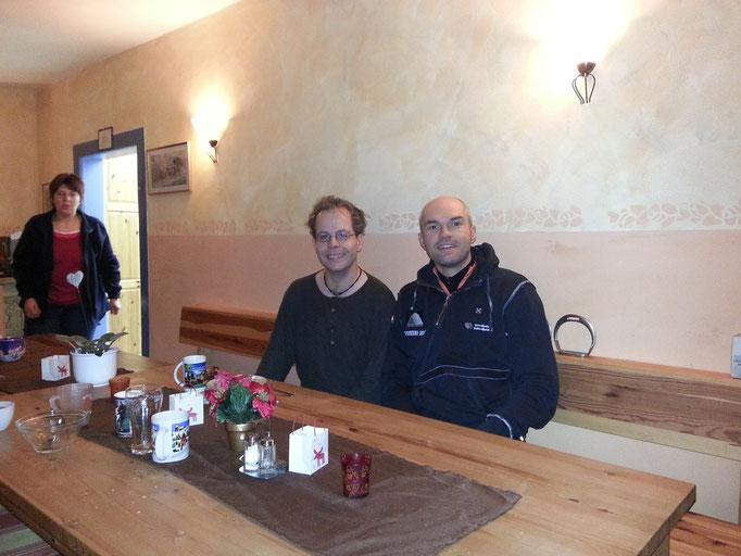 Thomas Ehmke und Michael Frenz vor dem Start