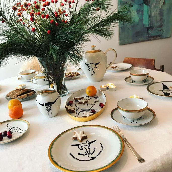 Come 'round for tea!