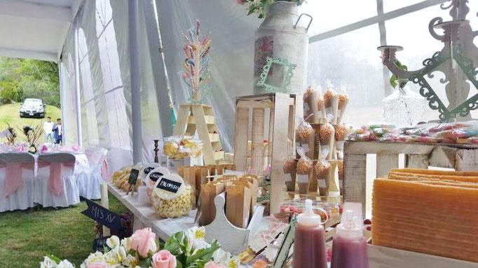 Mesa de dulce fiesta infantil