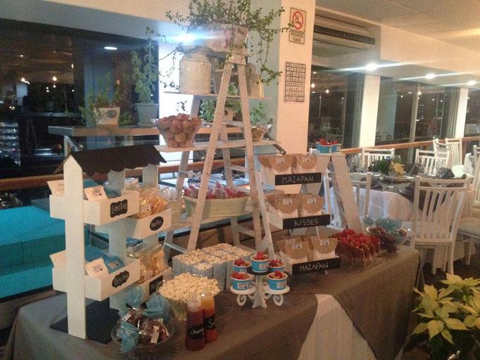 Mesa de dulces para fiesta