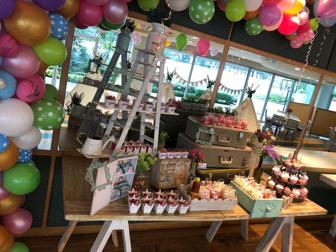 Mesa de dulces Cumpleaños