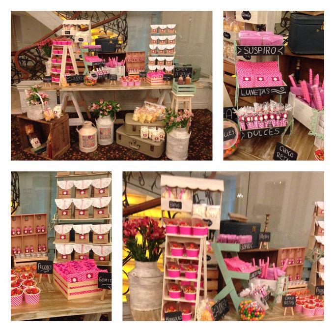 Mesa de dulces fiesta