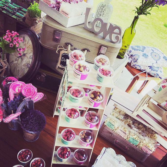 Mesas de dulces xv años