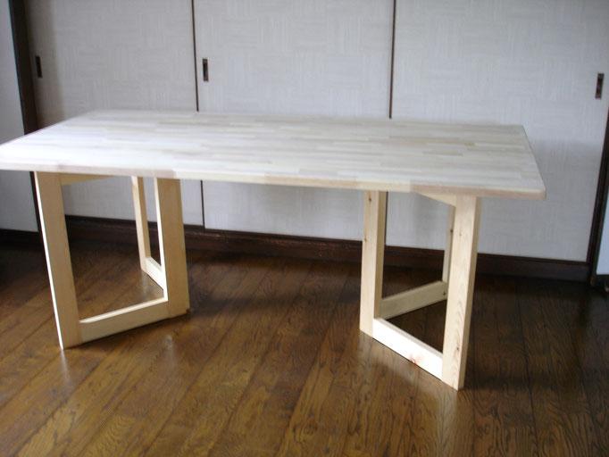 テーブル脚(折りたたみ式)