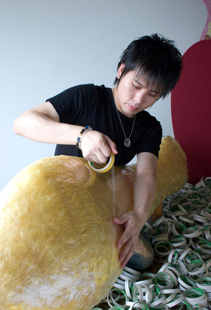 撮影:信原 修 / 2008年 / 練馬区立美術館 プロフィール写真