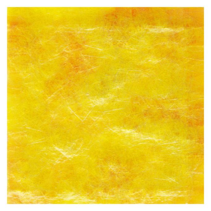 セロハン画™『Tape-layer Works.17』/ 2013年制作 / 特注カラーセロテープ / 15×15cm