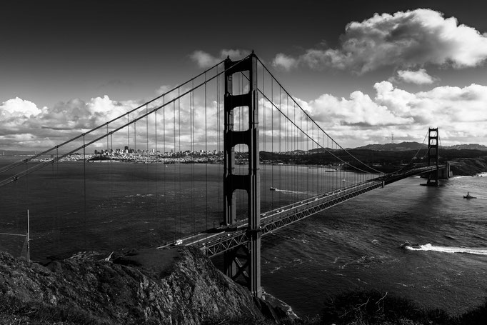 Golden Gate Bridge, San Franciso, USA (2015)
